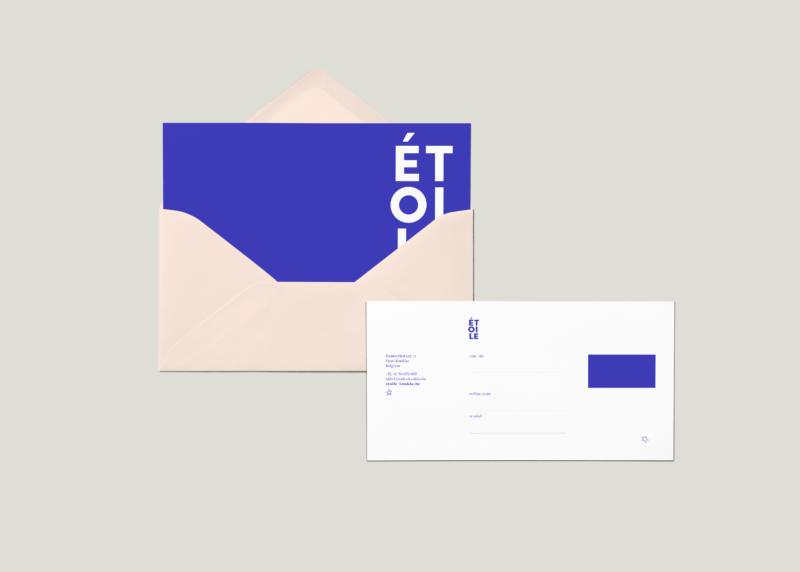 Etoile Envelope Mock Up